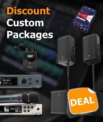 Custom Audio Packages