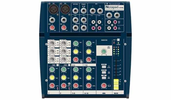 soundcraft-notepad-hire